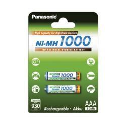 Panasonic AAA HR03 1000mAh 2ks balení originál (doprava zdarma u objednávek nad 1000 Kč!)