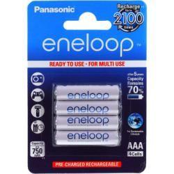 Panasonic Eneloop AAA 750mAh NiMh 4ks balení originál (doprava zdarma u objednávek nad 1000 Kč!)