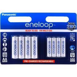 Panasonic eneloop aku AA / AAA BK-KJMCCE44E - 2x 4ks balení originál (doprava zdarma u objednávek nad 1000 Kč!)