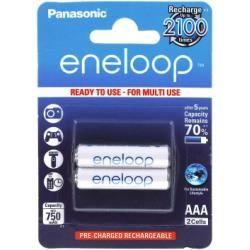 Panasonic eneloop aku AAA 2ks-balení (BK-4MCCE/2BE) originál (doprava zdarma u objednávek nad 1000 Kč!)