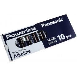 Panasonic Powerline Industrial alkalická AA LR6AD LR6 M 1,5V 10ks balení originál (doprava zdarma u objednávek nad 1000 Kč!)