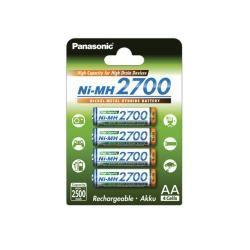 Panasonic tužková HR6 2700mAh NiMH 4ks balení originál (doprava zdarma u objednávek nad 1000 Kč!)