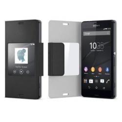 Pouzdro Sony SCR26 černé pro Xperia Z3 Compact (doprava zdarma u objednávek nad 1000 Kč!)