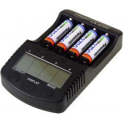 Powery nabíječka pro NiMH/NiMH- Li-Ion aku vč. 4xAA 2700mAh Panasonic aku (doprava zdarma!)
