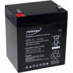Powery náhradní baterie pro APC Back-UPS ES 500 5Ah 12V originál (doprava zdarma u objednávek nad 1000 Kč!)