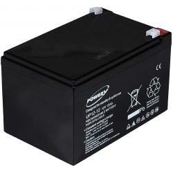 Powery náhradní baterie pro invalidní vozíky / skútr / elektro autíčka 12V 12Ah (doprava zdarma u objednávek nad 1000 Kč!)