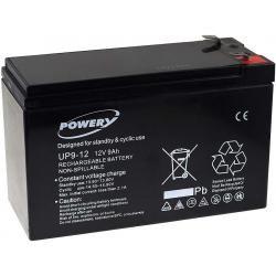 Powery náhradní aku baterie pro UPS APC Back-UPS CS 350 9Ah 12V originál (doprava zdarma u objednávek nad 1000 Kč!)