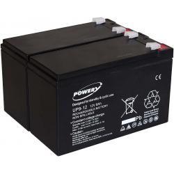 Powery náhradní baterie pro UPS APC Back-UPS RS1500 9Ah 12V originál (doprava zdarma!)