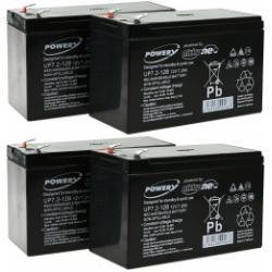 Powery náhradní baterie pro UPS APC RBC 24 (doprava zdarma!)