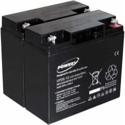Powery náhradní baterie pro UPS APC Smart-UPS SMT1500I 20Ah (nahrazuje také 18Ah) (doprava zdarma!)