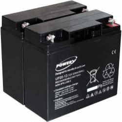 Powery náhradní baterie pro UPS APC Smart-UPS SUA1500I 20Ah (nahrazuje také 18Ah) (doprava zdarma!)