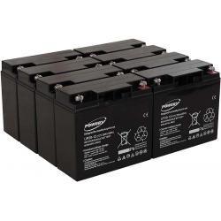 Powery náhradní baterie pro UPS APC Smart-UPS SUA5000RMI5U 20Ah (nahrazuje také 18Ah) (doprava zdarma!)