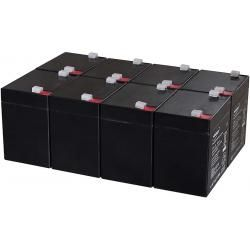 Powery náhradní baterie pro UPS APC Smart-UPS XL Modular 1500 Rackmount/Tower 5Ah 12V (doprava zdarma!)