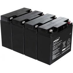 Powery náhradní aku baterie pro YUASA NP18-12 20Ah (nahrazuje také 18Ah) (doprava zdarma!)