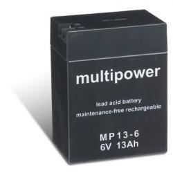 Powery olověná baterie (multipower) MP13-6 (doprava zdarma u objednávek nad 1000 Kč!)