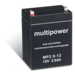 Powery olověná baterie (multipower) MP2,9-12 (doprava zdarma u objednávek nad 1000 Kč!)