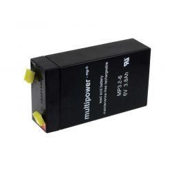 Powery olověná baterie (multipower) MP3,8-6P (doprava zdarma u objednávek nad 1000 Kč!)