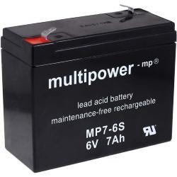 Powery olověná baterie (multipower) MP7-6S (doprava zdarma u objednávek nad 1000 Kč!)