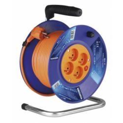 PVC prodlužovací kabel na bubnu - 4 zásuvky 30m (doprava zdarma u objednávek nad 1000 Kč!)