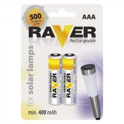 Raver baterie nabíjecí HR03 (AAA), 2 ks v blistru (doprava zdarma u objednávek nad 1000 Kč!)