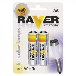 Raver baterie nabíjecí HR6 (AA), 2 ks v blistru (doprava zdarma u objednávek nad 1000 Kč!)