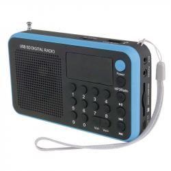 USB rádio EMGO 1505W, modrá (doprava zdarma u objednávek nad 1000 Kč!)