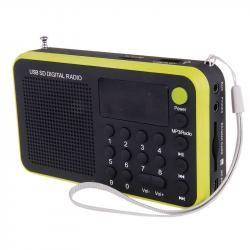 USB rádio EMGO 1505W, žlutá (doprava zdarma u objednávek nad 1000 Kč!)