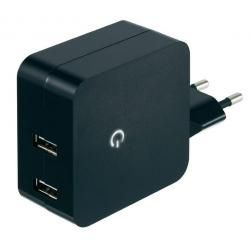 USB síťový adaptér Voltcraft SPS-2400/2 , 2x 2400 mA (doprava zdarma u objednávek nad 1000 Kč!)