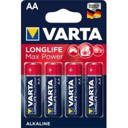 Varta Max Tech alkalická AA tužková baterie 4ks balení originál (doprava zdarma u objednávek nad 1000 Kč!)