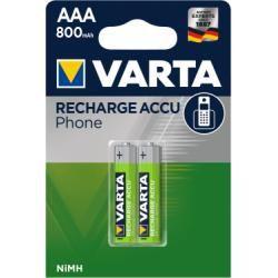 Varta Micro AAA baterie pro DECT-Telefone 800mAh 2ks balení originál (doprava zdarma u objednávek nad 1000 Kč!)