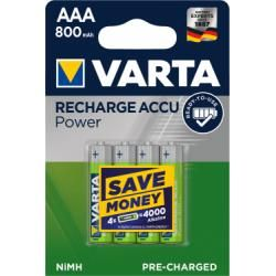 Varta Power aku Ready2Use TOYS Micro AAA 4ks balení originál (doprava zdarma u objednávek nad 1000 Kč!)