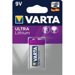 Varta Professional Lithium 9V-Block originál (doprava zdarma u objednávek nad 1000 Kč!)