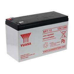 YUASA náhradní baterie pro solární systémy, nouzové osvětlení, zabezpečovací systémy 12V 7Ah originál (doprava zdarma u objednávek nad 1000 Kč!)
