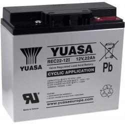 YUASA náhradní baterie pro UPS 12V 22Ah (nahrazuje také 17Ah 18Ah 19Ah) hluboký cyklus originál (doprava zdarma!)