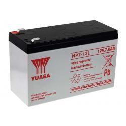 YUASA olověná baterie NP7-12L Vds kompatibilní s CSB GP1270 F2 originál (doprava zdarma u objednávek nad 1000 Kč!)