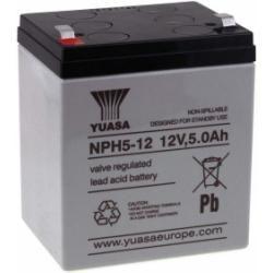 YUASA olověná baterie NPH5-12 (zvýšený výkon) originál (doprava zdarma!)